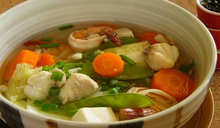 Sup bening resep sup jamur tiram putih kuah bening