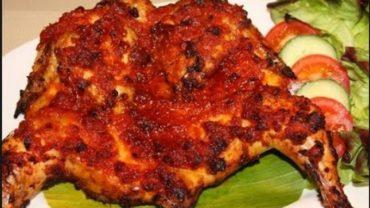 Resep Ayam Bakar Bumbu Rujak Jawa Timur