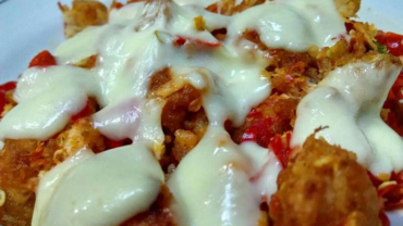 Resep Ayam Geprek Mozarella Makanan Kekinian Yang Menggoda